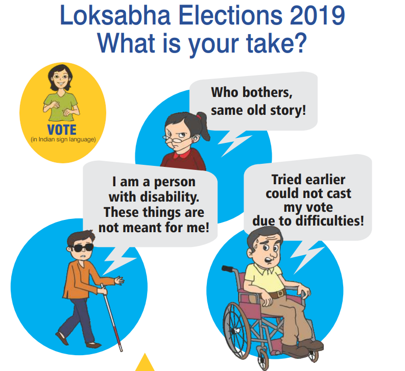 Election 2019 - Facilities for Persons with Disabilities