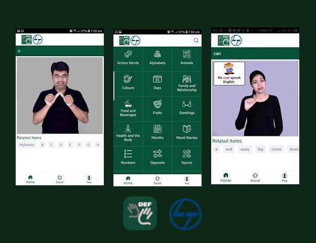 DEF-ISL App - Communication App for deaf and hearing - DEF-ISL app